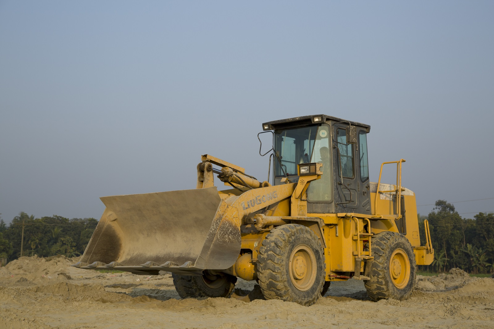 Payloader, LiuGong 835, China