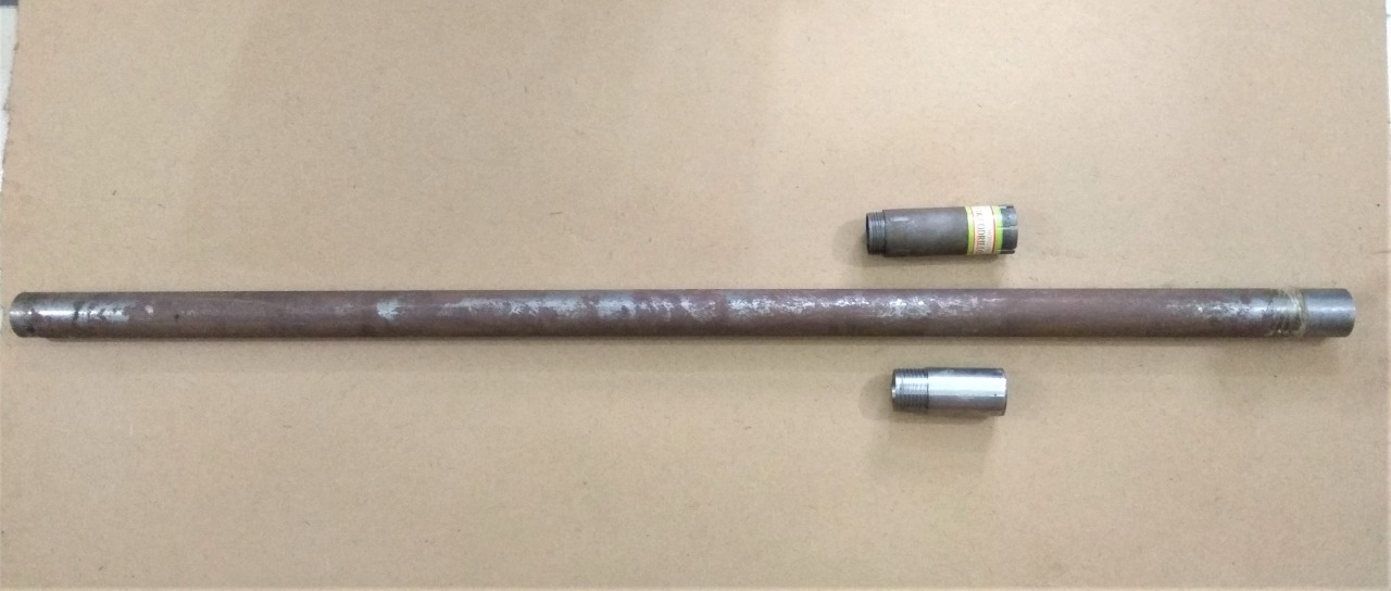 Double tube core barrel including core bit, reaming shell, Barkom, Turkey.