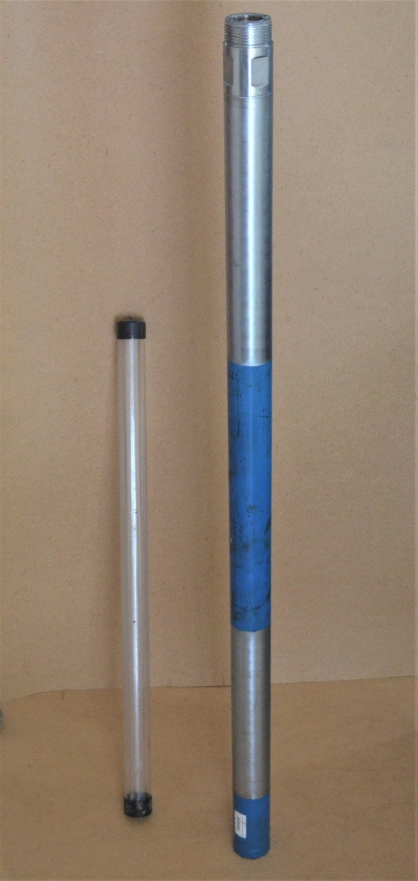 Mazier 74*52 Triple tube core barrel with plastic tube & cutting shoe by BW.